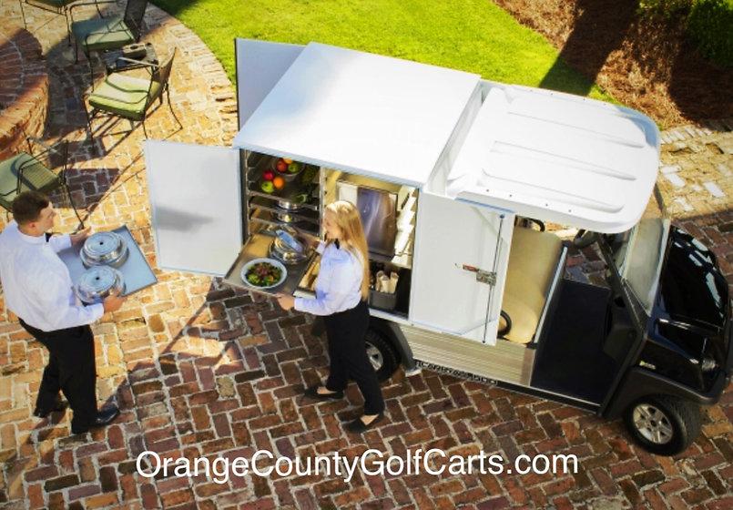 food golf cart