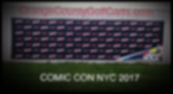 2017 Comic Con NYC Back Drop