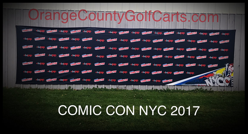 2017 Comic Con NYC Back Drop