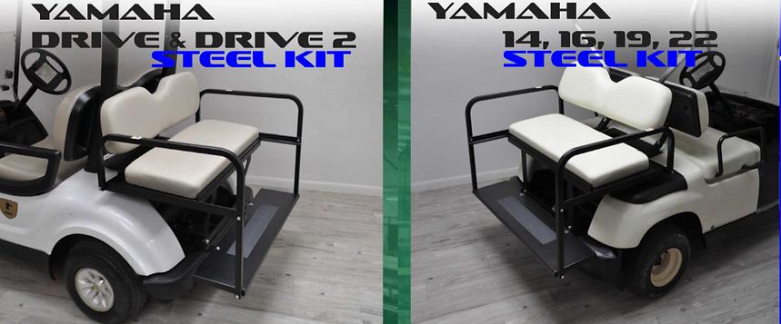 golf cart rear seat kits