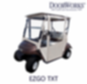 EZGO golf cart cab enclosure