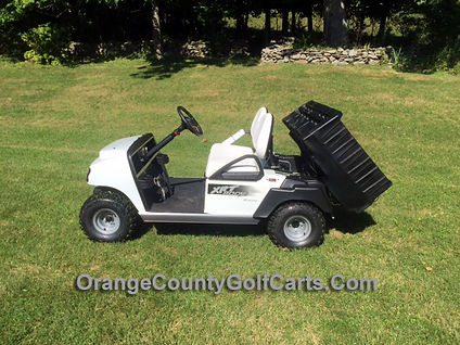 golf car with box