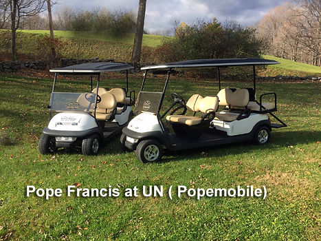 Pope Francis Popemobiles For Sale