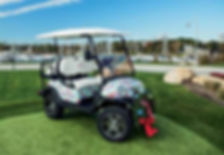 vineyard vines golf cart