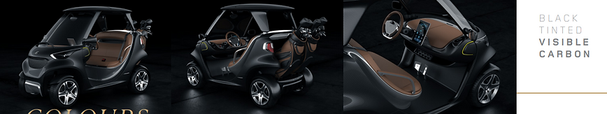 visible black.Garia Super Sport