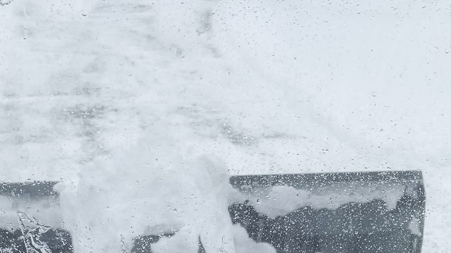 Snow Plowing Club Car XRT