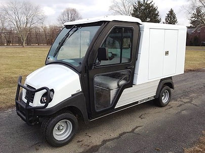 Golf Cart Carryall Van Box