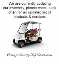 Orange County Golf Carts Luxury golf cars