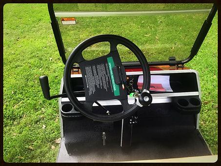 Handycap golf car