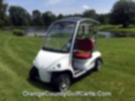 Luxury Diane Garia Golf Cart