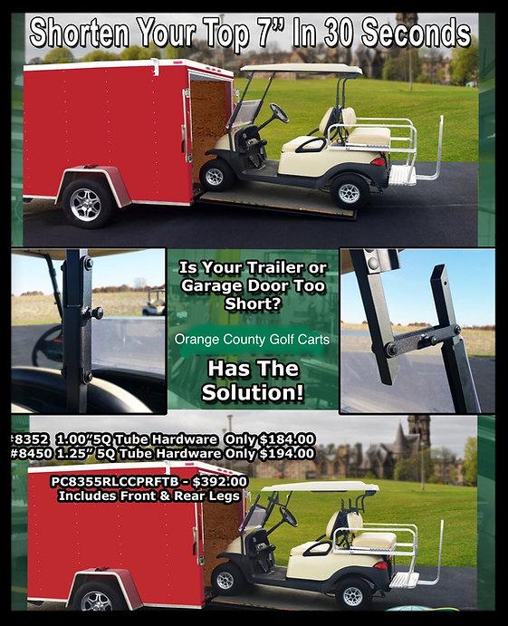 golf cart short top