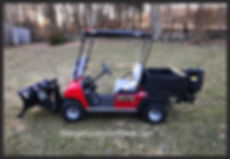 BRUTE Golf Cart Snow Plows