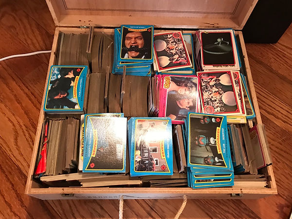 1979 Topps Star Trek: The Motion Picture Trading Cards