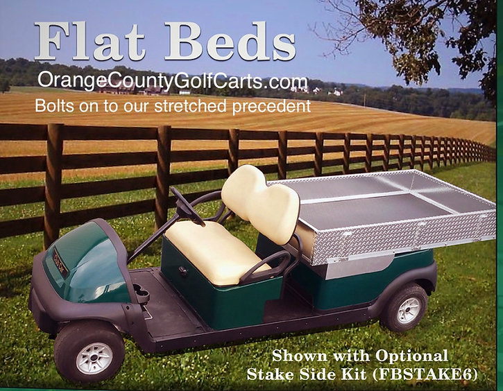 long bed for precedent golf car
