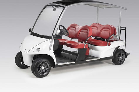 luxury golf car by Diane