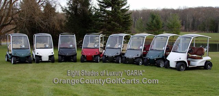 Diane Signature Garia Golf Cars