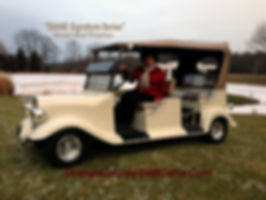 luxury golf car Diane