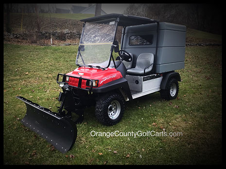 SNOW PLOW Golf Cart