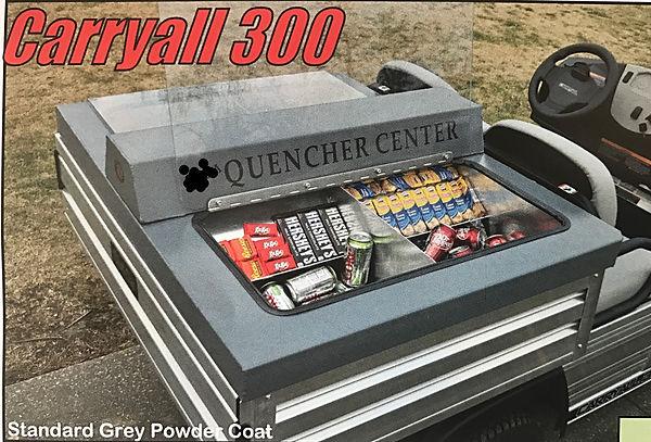 golf cart food box beverage carryall 300
