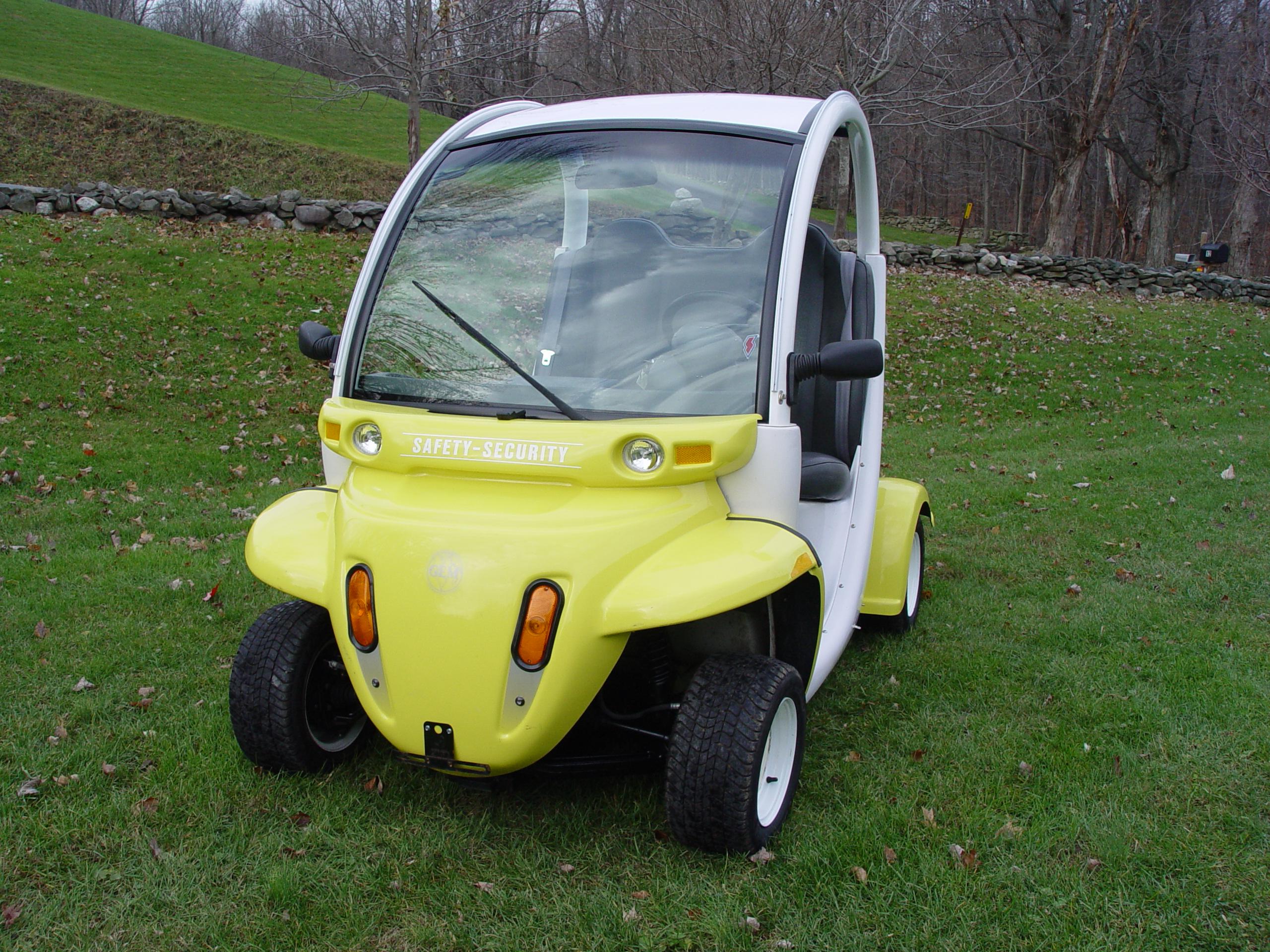 "GEM ""Global Electric Motorcars"""