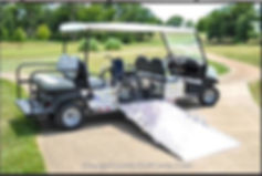 BRUTE Wheelchair golf cart Trans  Vehicles