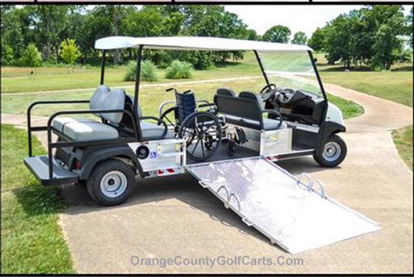 BRUTE Wheelchair golf cart Trans  Vehicles
