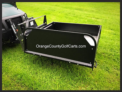 Club Car Carryall Bed Box (NEW)