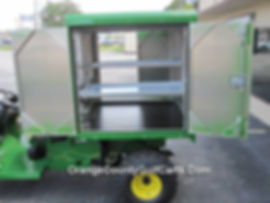 Golf Cart Van Box John Deere