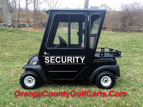 security golf cart