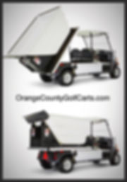 Trash Truck Golf Cart