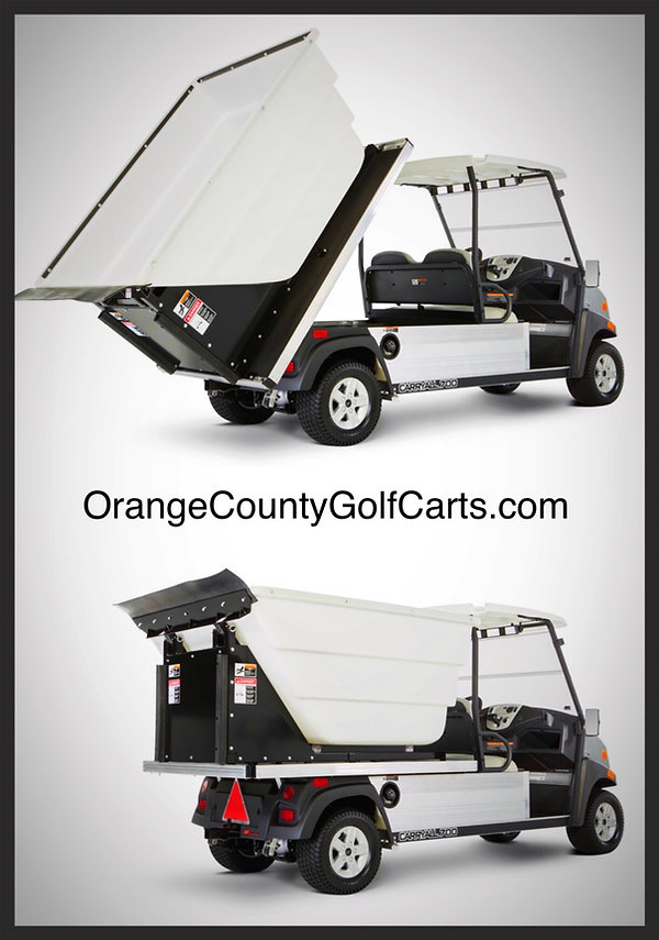 Trash Truck Golf Cart