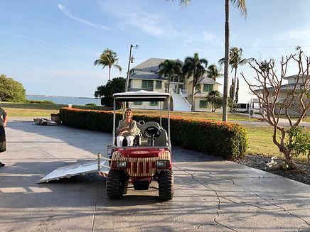wheelchair golf cart