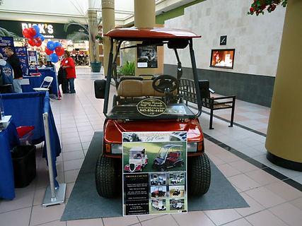 luxury lsv golf car Diane