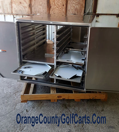 Golf Cart food Van Box