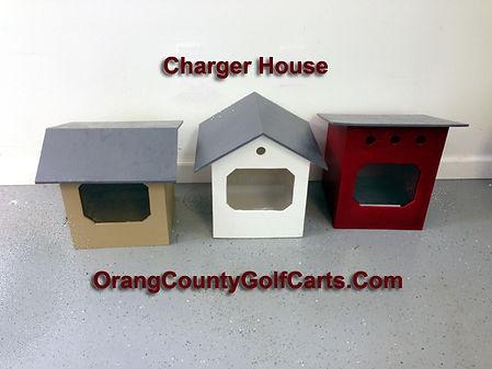 golf cart battery house
