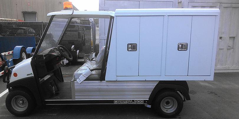 golf cart food service cart