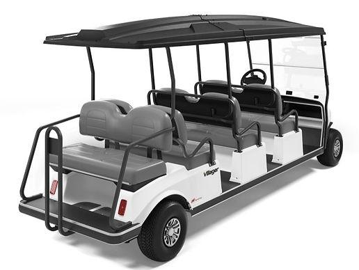 8 seat golf cart