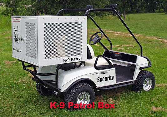 K-9 Patrol Box for Golf Cart