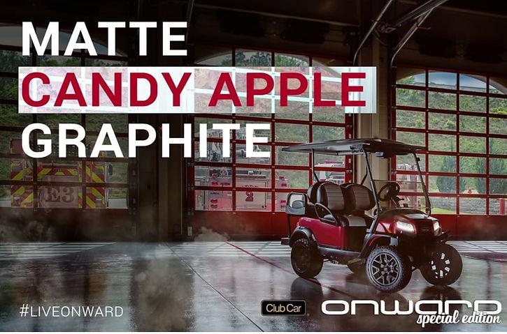 Onward MATTE Candy Apple Graphite