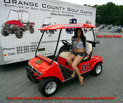 Daisy Duke Luxury custom golf carts Diane