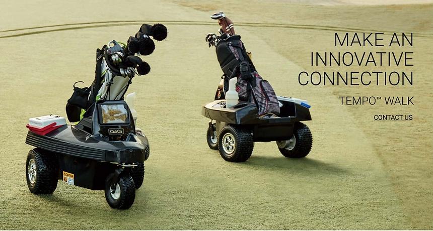Tempo Walk Golf Caddie