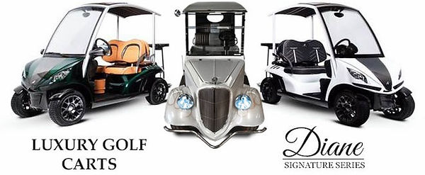Luxury Golf Carts by Diane