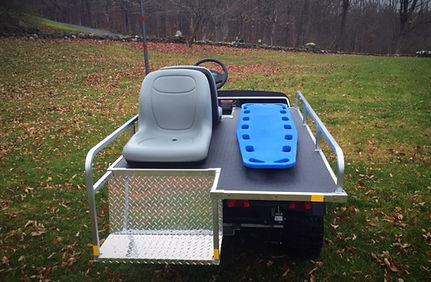BRUTE EMT Emergency Medical Vehicles   Golf Cart ambulance