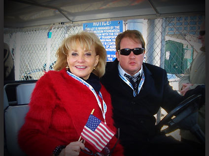 Barbara walters Luxury custom golf carts Diane