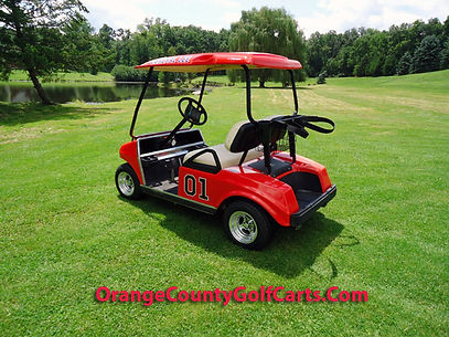 General Lee Golf Cart