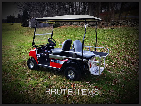 First Responder mini-ambulance EMT golf carts