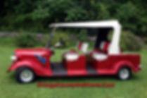 Custom golf cart Diane