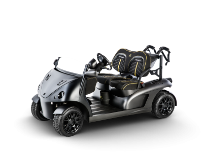 Luxury Garia Mansory Golf Cart