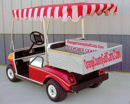 beverage golf cart