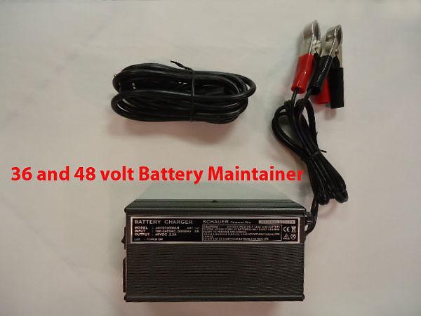 Golf Cart Battery Maintainer